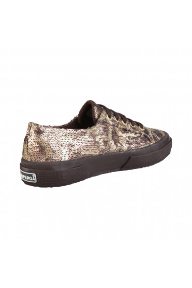 Pantofi sport Superga S009Y70 2750 902 GOLDBRONZE animal print