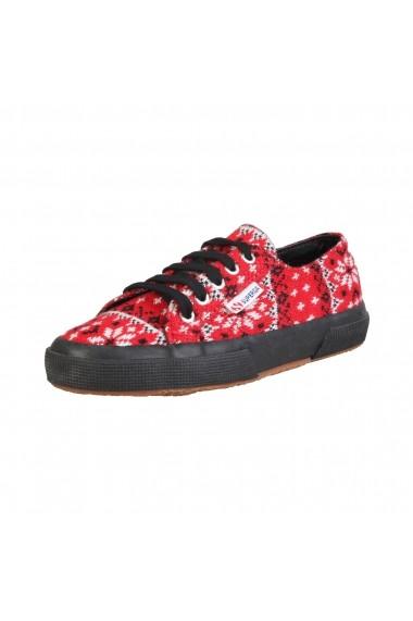Pantofi sport Superga S006QS0 2750 991 REDBLACK print
