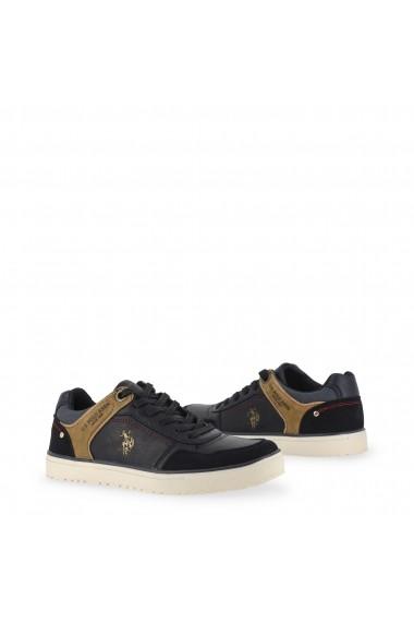 Pantofi sport Papuci US Polo ASSN WALKS4170W8_YS1_DKBL_els Negru