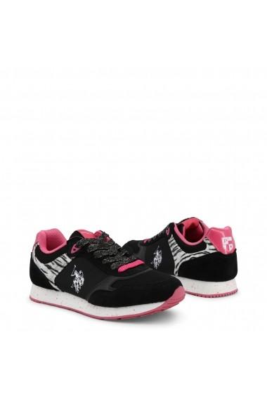 Pantofi sport U.S. Polo ASSN. FREE4030S8_LT1_BLK-FUX