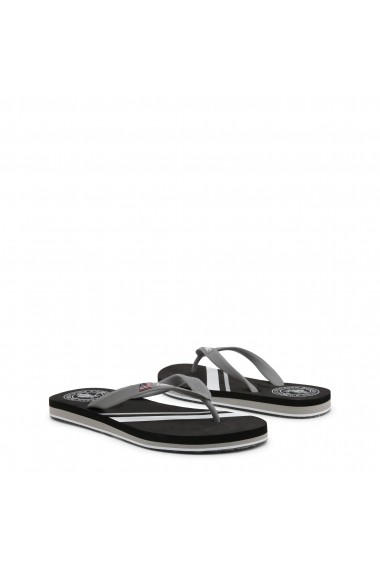 Papuci U.S. Polo ASSN. MELL4197S8_G1_BLK-GREY