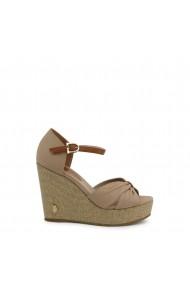 Sandale cu toc U.S. Polo Assn. AYLIN4171S0_CY1_BEI-CUO