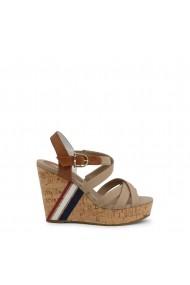 Sandale cu toc U.S. Polo Assn. AYLIN4092S0_CY1_BEI-CUO