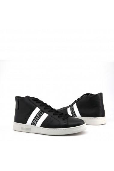 Pantofi sport Bikkembergs MIDBOUNCE_NATURAL-NERO-BIANCO Negru