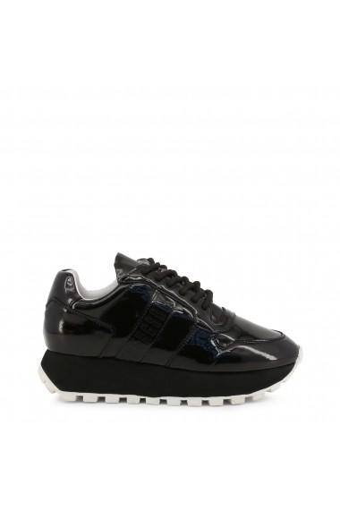 Pantofi sport Bikkembergs FEND-ER_2087-PATENT_BLACK Negru
