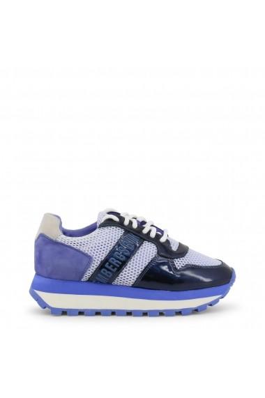 Pantofi sport Bikkembergs FEND-ER_2087-MESH_PERIWINKLE Albastru