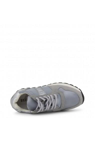Pantofi sport Bikkembergs FEND-ER_2087_SILVER-GREY Gri
