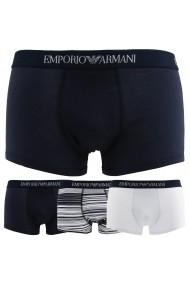 Boxeri Emporio Armani 3PACK_7P722_43935_DARKBLUE Bleumarin