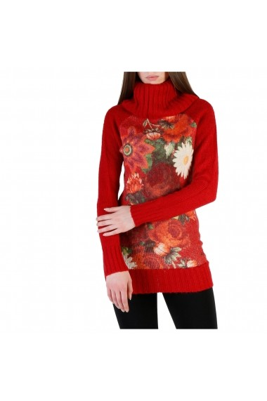 eaaa65cf1c3 -54% Pulover Desigual 39J2119_3001_ROSSO Floral Pulover Desigual  39J2119_3001_ROSSO Floral