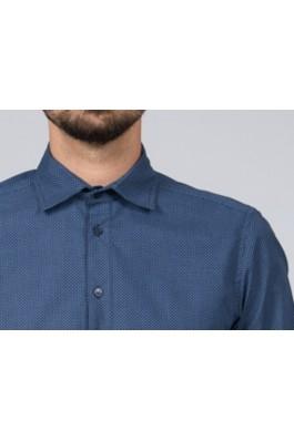 Camasa pentru barbati marca Be You 7099 bleumarin buline bleu