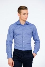 Camasa bleu cu buzunar marca Be You