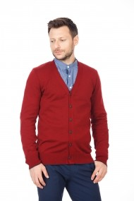 Cardigan BE YOU 0757 bordo