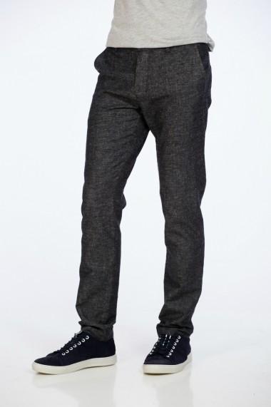 Pantaloni din in, negri , marca Be You