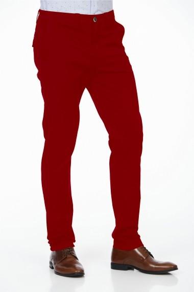 Pantaloni BE YOU 3314 rosu