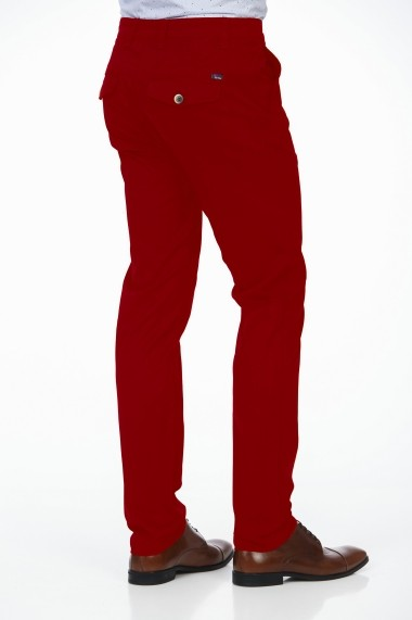 Pantaloni BE YOU 3314 rosu