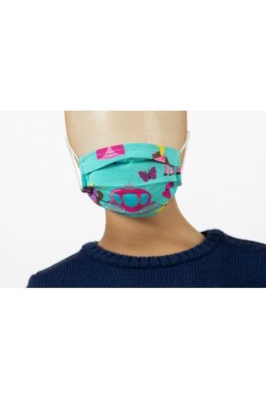 Masca de protectie pentru copii, model printese Be You