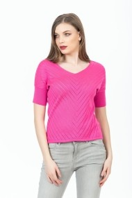 Bluza Be You 0677 Fuchsia