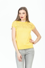Bluza BE YOU 0774 Galbena