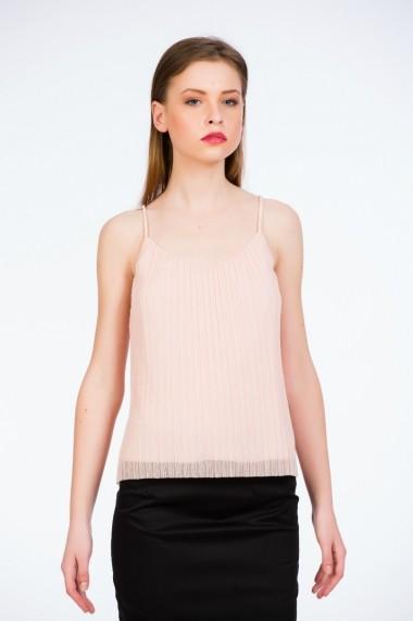 Top plissa roz quartz marca Be You