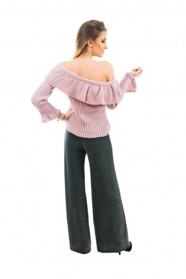 Bluza Carmen Grigoriu French Dream roz pal