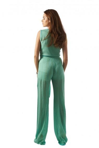 Pantalon Carmen Grigoriu Iva-Verde