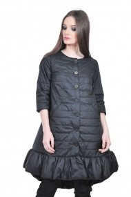 Jacheta lunga neagra de dama, RVL rvl_RD2507-negru negru