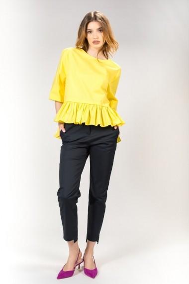 Bluza RVL Fashion de dama, galbena