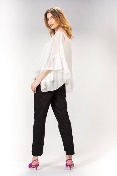 Bluza alba de dama, RVL rvl_D2710 alb