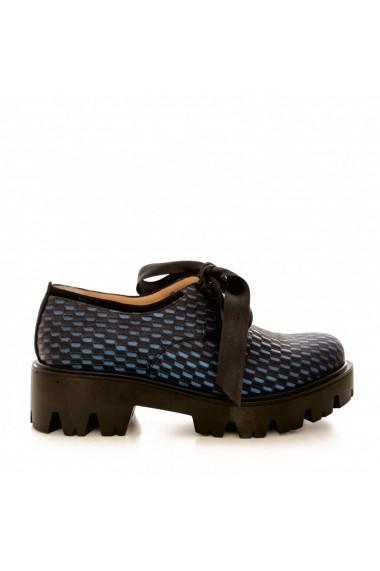 Pantofi CONDUR by alexandru 701 bleumarin 3D