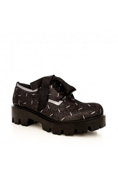 Pantofi CONDUR by alexandru 701 presaj gri