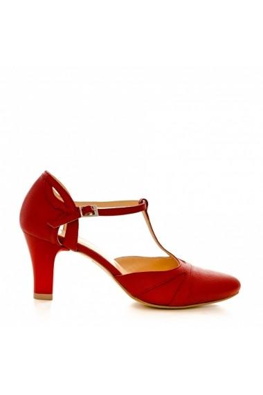 Pantofi cu toc CONDUR by alexandru p881 rosu