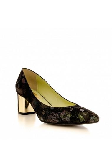 Pantofi cu toc CONDUR by alexandru 1416 cameleon