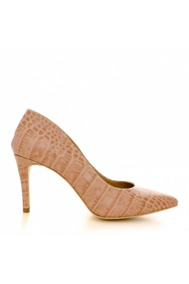 Pantofi cu toc CONDUR by alexandru 1619 nude