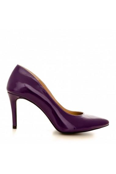 Pantofi cu toc CONDUR by alexandru 1619 mov