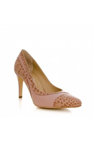 Pantofi cu toc CONDUR by alexandru 1524 nude
