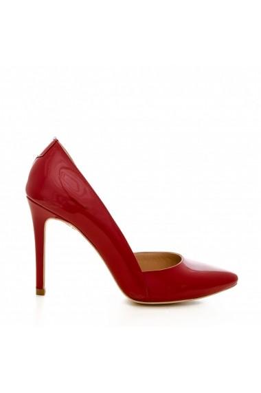 Pantofi cu toc CONDUR by alexandru 1400 rosu