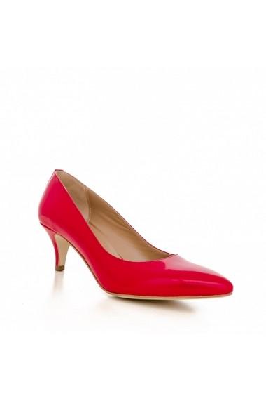 Pantofi cu toc CONDUR by alexandru 1200 lac rosu