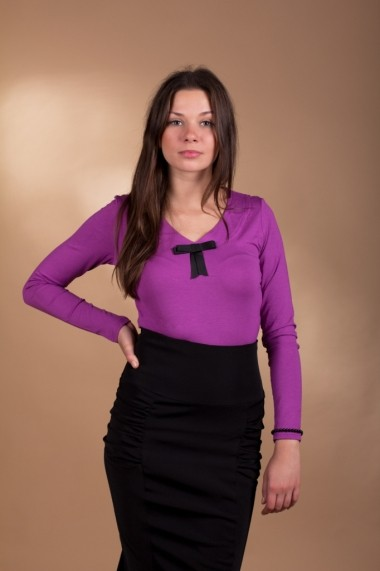 Bluza Lookat Multicolor Lili 3037 Violet
