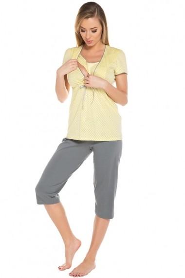 Pijama Italian fashion Galben 43703-108