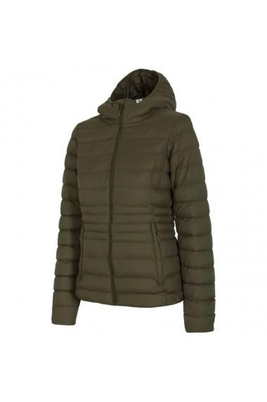 Jacheta pentru femei 4f  W H4Z17-KUD003 Kaki