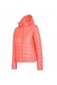 Jacheta pentru femei 4f  W H4Z17-KUD004 Roz