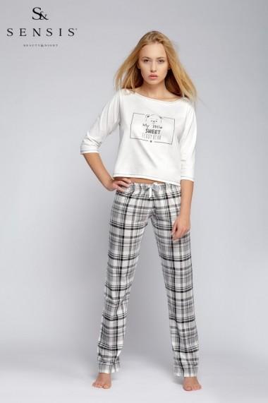 Pijama  Sensis Ecru 43685-112