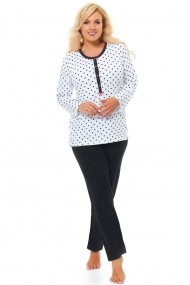 Pijama Dn-nightwear Alb 74394-1244
