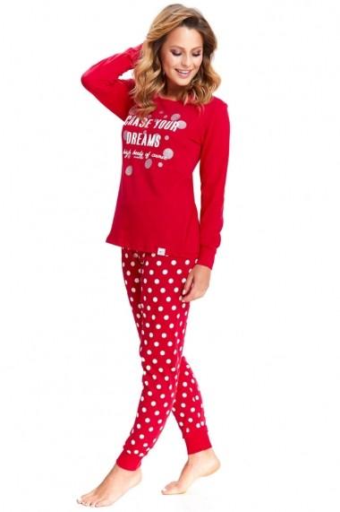 Pijama Dn-nightwear Rosu 74400-806