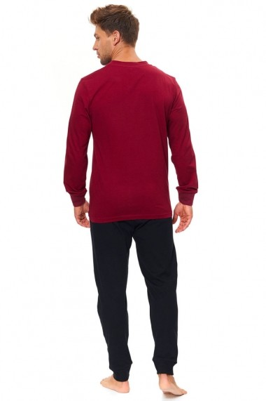 Pijama Dn-nightwear Rosu 74557-647
