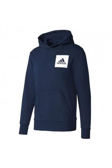 Hanorac pentru barbati Adidas Essentials Chest Logo Pullover Hood Fleece M S98771