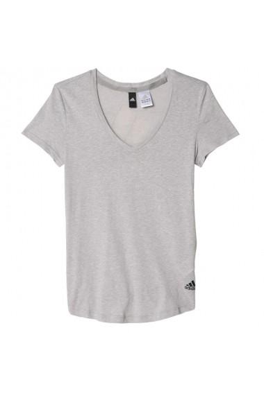 Tricou Adidas Logo V-neck Tee W AY0176