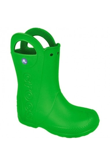 Cizme pentru copii Crocs  Handle It Kids 12803 ciemno zielone