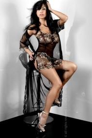 Halat Livia corsetti Negru 12793-7