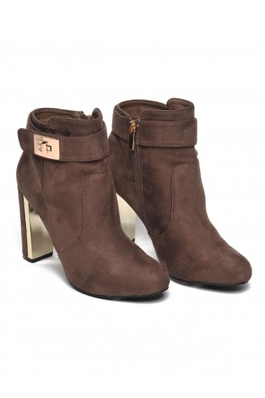 Botine Top Secret SBU0539B5 bej - els